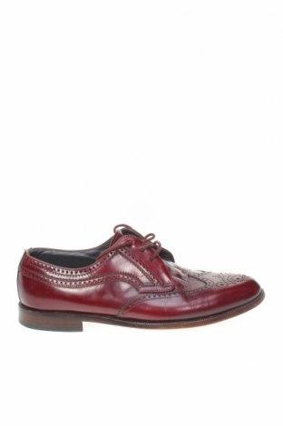 Ανδρικά παπούτσια Bally, Μέγεθος 42, Χρώμα Κόκκινο, Γνήσιο δέρμα, Τιμή 47,55€