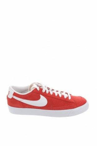 Мъжки обувки Nike, Размер 44, Цвят Червен, Естествен велур, Цена 81,27лв.