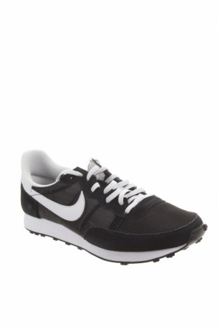 Pánské boty Nike, Velikost 45, Barva Modrá, Eko kůže, textile , Přírodní velur , Cena  1837,00Kč