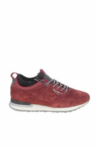 Pánské boty Pepe Jeans, Velikost 40, Barva Modrá, Přírodní velur , Cena  1368,00Kč