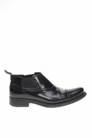 Мъжки обувки Prada, Размер 41, Цвят Черен, Естествена кожа, Цена 173,84лв.