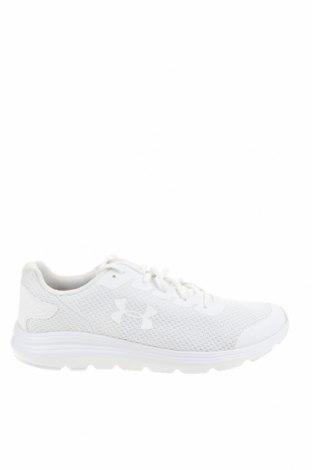 Мъжки обувки Under Armour, Размер 45, Цвят Бял, Текстил, Цена 84,50лв.