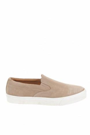 Ανδρικά παπούτσια Zara, Μέγεθος 43, Χρώμα  Μπέζ, Φυσικό σουέτ, Τιμή 25,29€