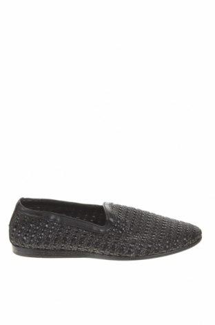 Ανδρικά παπούτσια Zara, Μέγεθος 40, Χρώμα Μαύρο, Δερματίνη, κλωστοϋφαντουργικά προϊόντα, Τιμή 24,32€