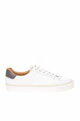 Ανδρικά παπούτσια Zara, Μέγεθος 41, Χρώμα Λευκό, Δερματίνη, Τιμή 15,31€