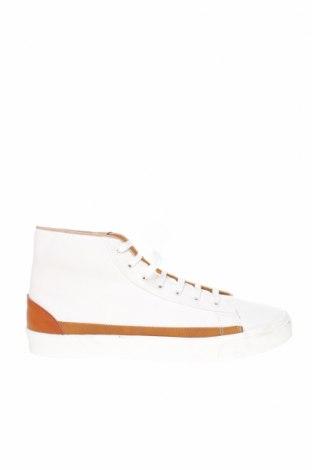 Ανδρικά παπούτσια Zara, Μέγεθος 45, Χρώμα Λευκό, Δερματίνη, Τιμή 22,02€
