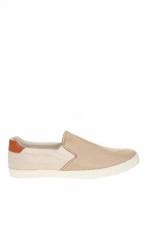 Ανδρικά παπούτσια Zara, Μέγεθος 44, Χρώμα  Μπέζ, Κλωστοϋφαντουργικά προϊόντα, Τιμή 12,06€