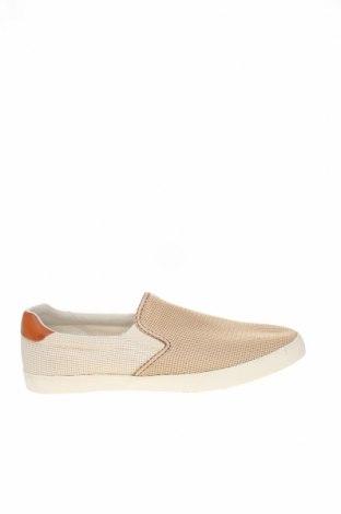 Ανδρικά παπούτσια Zara, Μέγεθος 44, Χρώμα  Μπέζ, Κλωστοϋφαντουργικά προϊόντα, Τιμή 12,86€