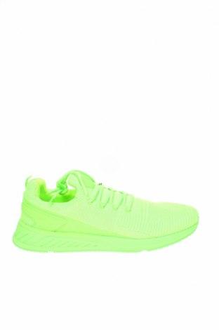 Ανδρικά παπούτσια Zara, Μέγεθος 46, Χρώμα Πράσινο, Κλωστοϋφαντουργικά προϊόντα, Τιμή 22,02€