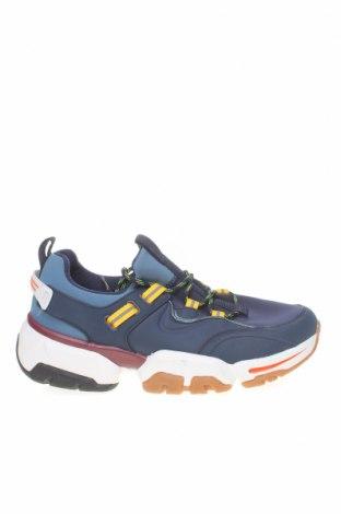 Ανδρικά παπούτσια Zara, Μέγεθος 43, Χρώμα Μπλέ, Δερματίνη, κλωστοϋφαντουργικά προϊόντα, Τιμή 25,29€