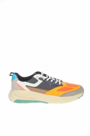 Мъжки обувки Zara, Размер 44, Цвят Многоцветен, Еко кожа, текстил, Цена 26,70лв.