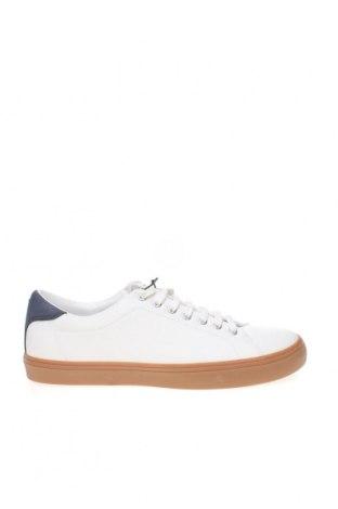 Мъжки обувки Zara, Размер 42, Цвят Бял, Еко кожа, Цена 44,50лв.