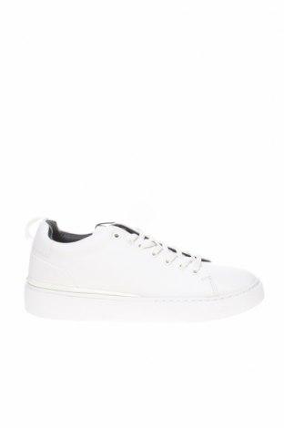 Ανδρικά παπούτσια Zara, Μέγεθος 41, Χρώμα Λευκό, Δερματίνη, Τιμή 18,81€