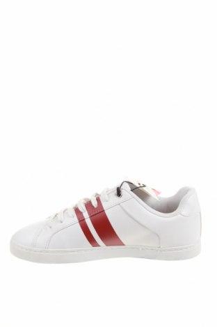 Мъжки обувки Zara, Размер 42, Цвят Бял, Еко кожа, Цена 29,37лв.