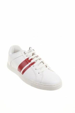 Мъжки обувки Zara, Размер 39, Цвят Бял, Еко кожа, Цена 29,37лв.