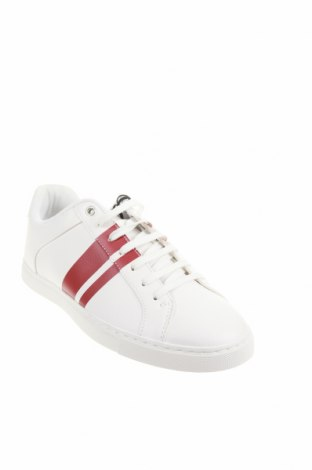 Мъжки обувки Zara, Размер 44, Цвят Бял, Еко кожа, Цена 44,50лв.