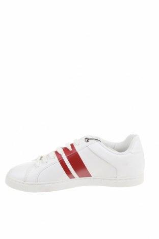 Мъжки обувки Zara, Размер 41, Цвят Бял, Еко кожа, Цена 29,37лв.