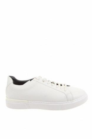 Мъжки обувки Zara, Размер 43, Цвят Бял, Еко кожа, Цена 41,87лв.