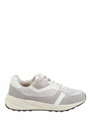 Ανδρικά παπούτσια Zara, Μέγεθος 43, Χρώμα Γκρί, Δερματίνη, κλωστοϋφαντουργικά προϊόντα, Τιμή 22,02€