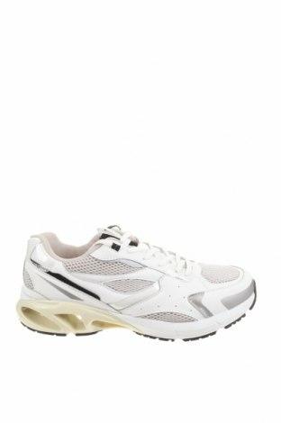 Ανδρικά παπούτσια Zara, Μέγεθος 43, Χρώμα Λευκό, Γνήσιο δέρμα, κλωστοϋφαντουργικά προϊόντα, Τιμή 32,24€