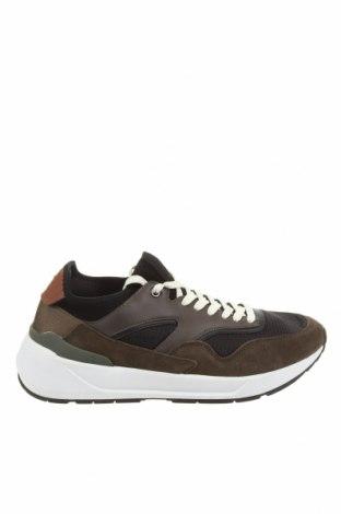 Ανδρικά παπούτσια Zara, Μέγεθος 43, Χρώμα Μαύρο, Φυσικό σουέτ, κλωστοϋφαντουργικά προϊόντα, δερματίνη, Τιμή 27,60€