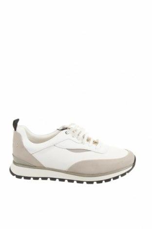 Ανδρικά παπούτσια Zara, Μέγεθος 42, Χρώμα Λευκό, Δερματίνη, κλωστοϋφαντουργικά προϊόντα, Τιμή 25,29€