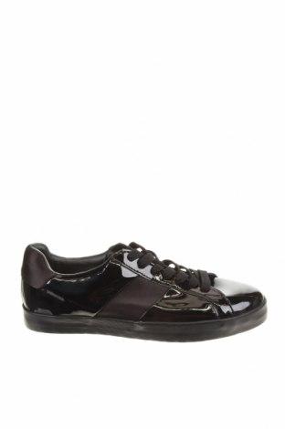Мъжки обувки Zara, Размер 42, Цвят Черен, Еко кожа, Цена 66,75лв.