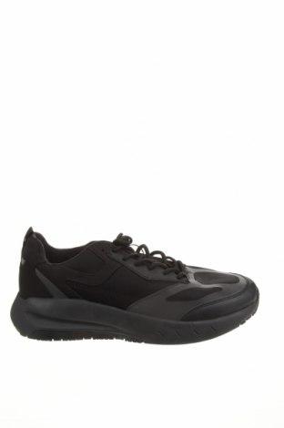 Încălțăminte bărbătească Zara, Mărime 44, Culoare Negru, Textil, poliuretan, Preț 140,52 Lei