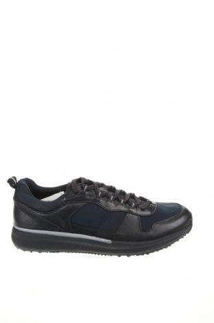 Încălțăminte bărbătească Zara, Mărime 45, Culoare Albastru, Piele naturală, textil, Preț 176,15 Lei