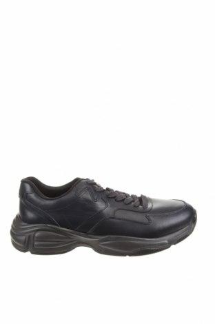 Ανδρικά παπούτσια Zara, Μέγεθος 42, Χρώμα Μπλέ, Γνήσιο δέρμα, Τιμή 27,60€