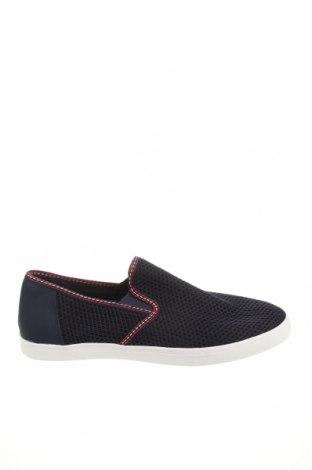 Мъжки обувки Zara, Размер 45, Цвят Син, Текстил, Цена 44,50лв.