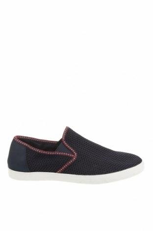 Мъжки обувки Zara, Размер 43, Цвят Син, Текстил, Цена 44,50лв.