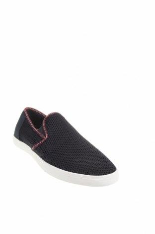Мъжки обувки Zara, Размер 46, Цвят Син, Текстил, Цена 44,50лв.