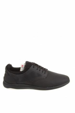 Мъжки обувки Zara, Размер 45, Цвят Черен, Еко кожа, Цена 38,27лв.
