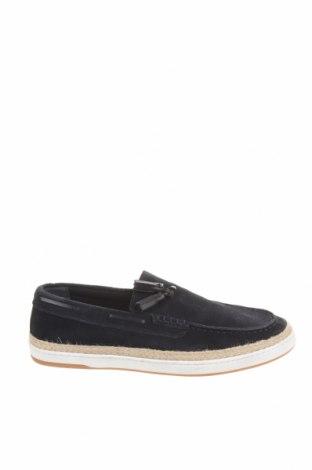Ανδρικά παπούτσια Zara, Μέγεθος 44, Χρώμα Μπλέ, Φυσικό σουέτ, Τιμή 29,69€