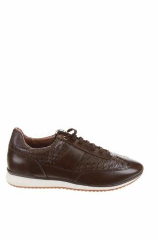 Ανδρικά παπούτσια Zara, Μέγεθος 42, Χρώμα Καφέ, Δερματίνη, Τιμή 22,02€