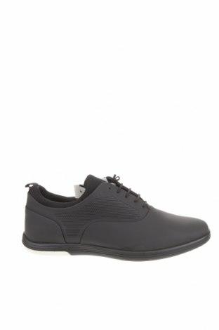 Ανδρικά παπούτσια Zara, Μέγεθος 43, Χρώμα Μαύρο, Πολυουρεθάνης, κλωστοϋφαντουργικά προϊόντα, Τιμή 22,02€