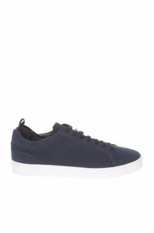 Ανδρικά παπούτσια Zara, Μέγεθος 43, Χρώμα Μπλέ, Δερματίνη, Τιμή 22,02€