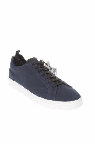 Мъжки обувки Zara, Размер 42, Цвят Син, Еко кожа, Цена 66,75лв.