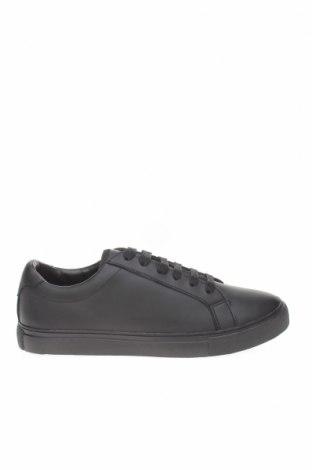 Мъжки обувки Zara, Размер 42, Цвят Черен, Еко кожа, Цена 53,40лв.