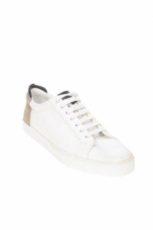 Мъжки обувки Zara, Размер 44, Цвят Бял, Еко кожа, Цена 29,25лв.