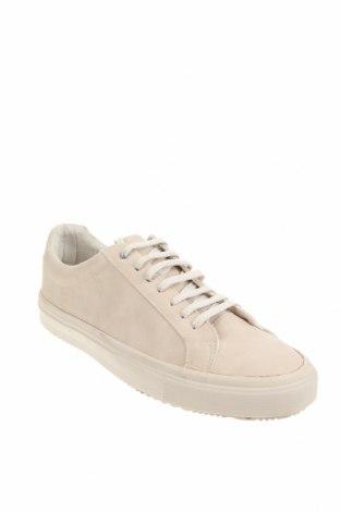 Мъжки обувки Zara, Размер 43, Цвят Бежов, Еко кожа, Цена 26,07лв.