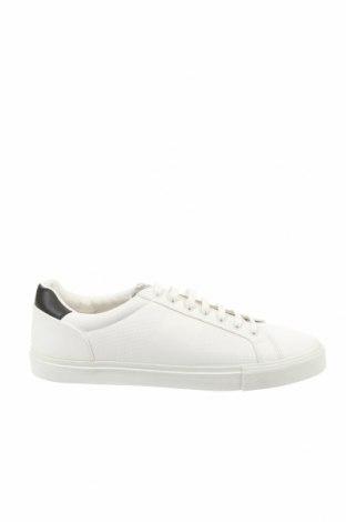 Ανδρικά παπούτσια Zara, Μέγεθος 44, Χρώμα Λευκό, Δερματίνη, Τιμή 18,32€