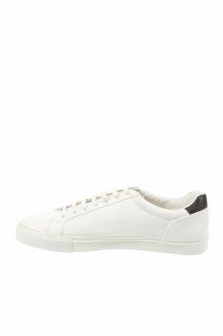 Мъжки обувки Zara, Размер 44, Цвят Бял, Еко кожа, Цена 39,50лв.