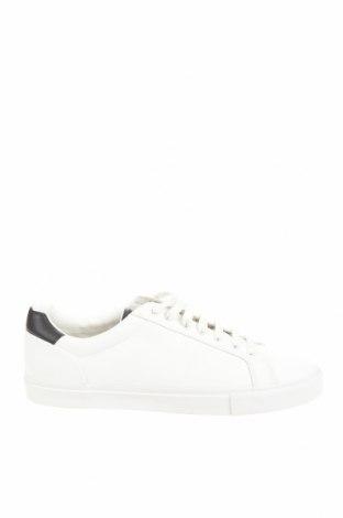 Ανδρικά παπούτσια Zara, Μέγεθος 44, Χρώμα Λευκό, Δερματίνη, Τιμή 20,65€