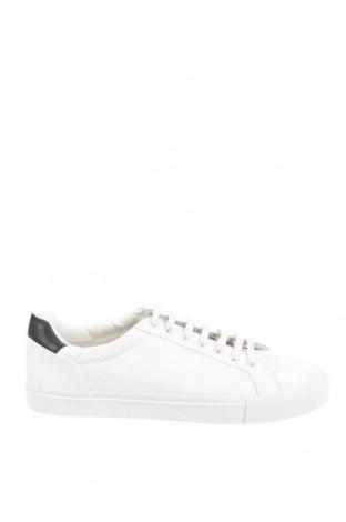 Мъжки обувки Zara, Размер 42, Цвят Бял, Еко кожа, Цена 39,50лв.