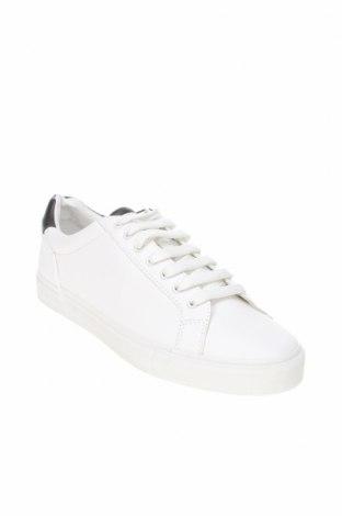 Мъжки обувки Zara, Размер 41, Цвят Бял, Еко кожа, Цена 39,50лв.