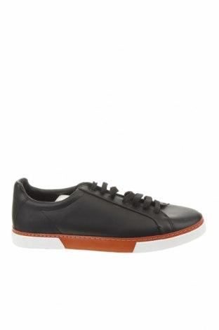 Ανδρικά παπούτσια Zara, Μέγεθος 45, Χρώμα Μαύρο, Δερματίνη, Τιμή 22,02€