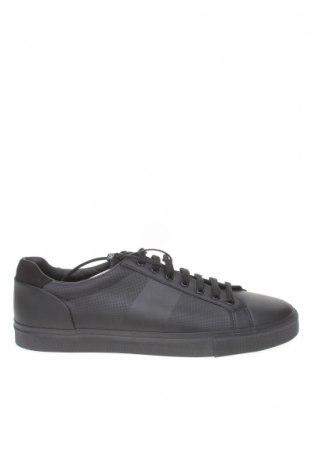 Ανδρικά παπούτσια Zara, Μέγεθος 44, Χρώμα Μαύρο, Δερματίνη, Τιμή 19,55€