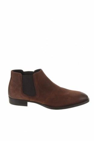 Ανδρικά παπούτσια Zara, Μέγεθος 40, Χρώμα Καφέ, Γνήσιο δέρμα, Τιμή 32,24€
